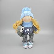 Куклы и пупсы ручной работы. Ярмарка Мастеров - ручная работа Кукла ручной работы на заказ Тина кукла интерьерная текстильная. Handmade.