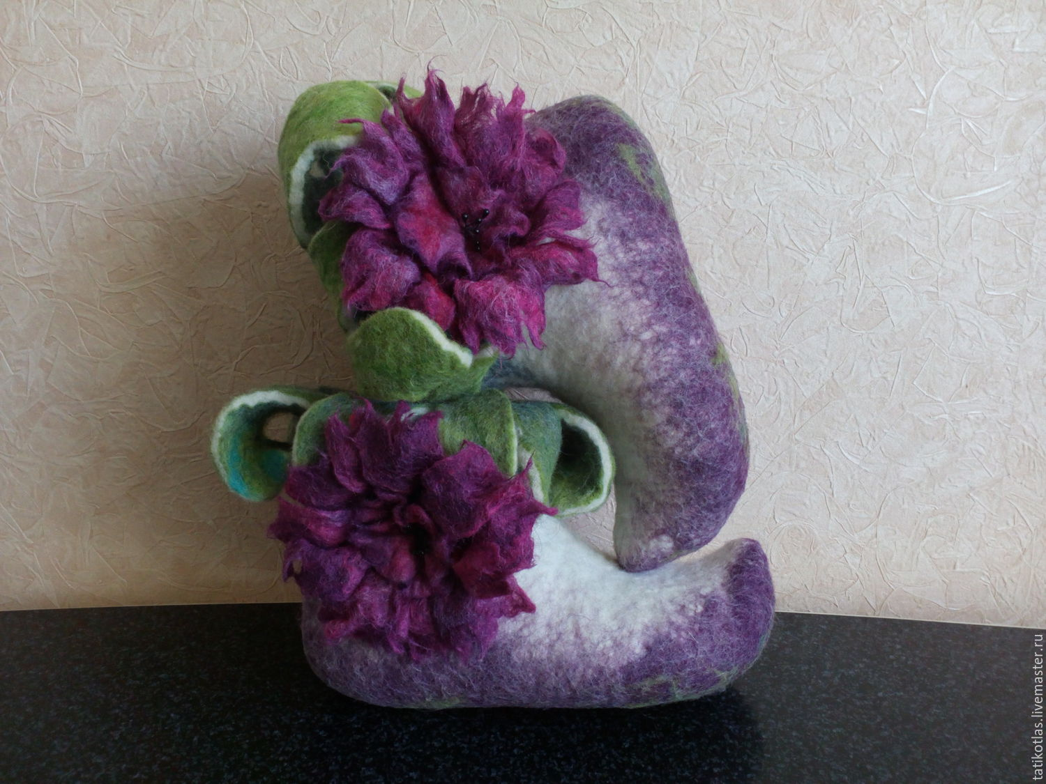 14ab850d9eb222 Handmade Shoes handmade. Livemaster - handmade. Buy Felted home boots    Thumbelina .
