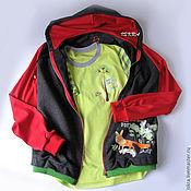 Одежда ручной работы. Ярмарка Мастеров - ручная работа Комплект для спорта Позитивный. Handmade.