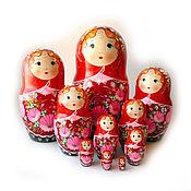 Русский стиль handmade. Livemaster - original item Matryoshka 10 local height 40 cm.. Handmade.