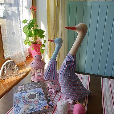 Куклы и игрушки ручной работы. Ярмарка Мастеров - ручная работа Утки Тильда. Handmade.
