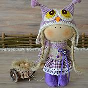Куклы и игрушки ручной работы. Ярмарка Мастеров - ручная работа текстильная куколка СОВЕНОК. Handmade.