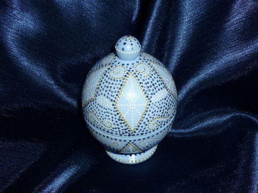 """Яйца ручной работы. Ярмарка Мастеров - ручная работа. Купить Шкатулка""""А-ля Фаберже"""". Handmade. Акрил"""