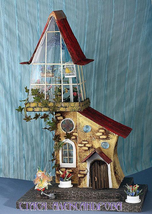 Кукольный дом ручной работы. Ярмарка Мастеров - ручная работа. Купить Волшебная Оранжерея. Handmade. Авторские домики, смешанная техника