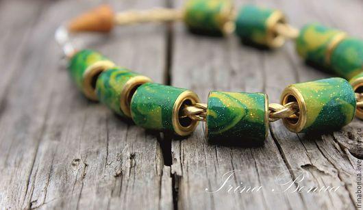"""Браслеты ручной работы. Ярмарка Мастеров - ручная работа. Купить """"Стильный"""" браслет. Handmade. Разноцветный, люверсы, украшение на каждый день"""