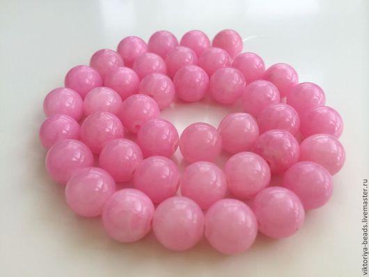 Для украшений ручной работы. Ярмарка Мастеров - ручная работа. Купить Агат розовый бусины 10 мм гладкие. Handmade.