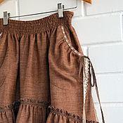 """Одежда ручной работы. Ярмарка Мастеров - ручная работа Комплект юбочек в пол """"Корица"""". Handmade."""