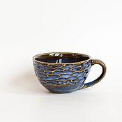"""Посуда ручной работы. Ярмарка Мастеров - ручная работа Чашка малая """"Чернослив"""". Handmade."""