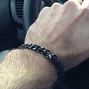 Украшения handmade. Livemaster - original item Bracelet of jewelry steel skulls. Handmade.