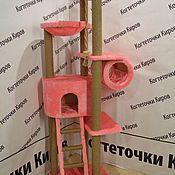 Лежанки ручной работы. Ярмарка Мастеров - ручная работа Когтеточка с лежанками. Handmade.