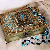 Для дома и интерьера handmade. Livemaster - original item Large jewelry box