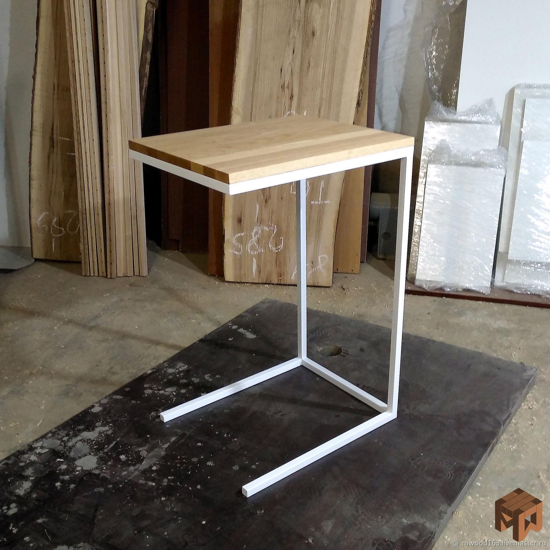 Прикроватный стол из дерева, Столы, Самара,  Фото №1