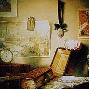 Картины и панно ручной работы. Ярмарка Мастеров - ручная работа Натюрморт со старинными предметами быта. Handmade.