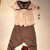 Одежда ручной работы. Ярмарка Мастеров - ручная работа Бурная овация для блузки-комбинации.. Handmade.