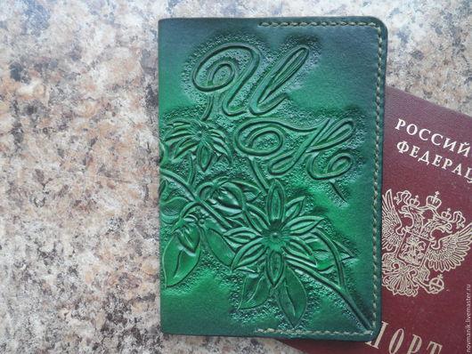 Обложки ручной работы. Ярмарка Мастеров - ручная работа. Купить Обложка для паспорта, автодокументов № 3. Handmade. Обложка