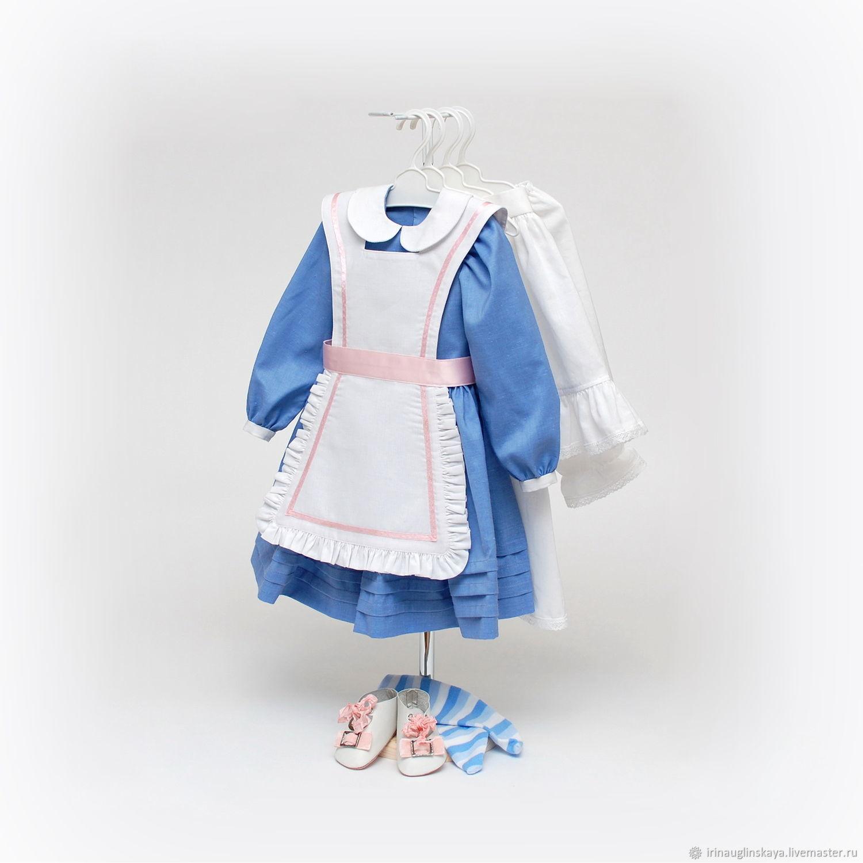Сшить одежду для антикварной куклы