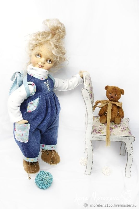 Kira, Interior doll, St. Petersburg,  Фото №1