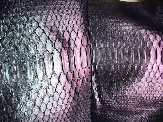 Другие виды рукоделия ручной работы. Ярмарка Мастеров - ручная работа. Купить Шкура питона хамелеон. Handmade. Шкура питона