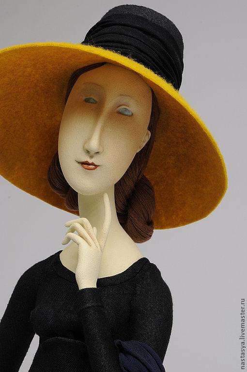 """Коллекционные куклы ручной работы. Ярмарка Мастеров - ручная работа. Купить Авторская кукла """" Жанна Эбютерн""""( персональный заказ). Handmade."""