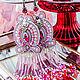 Earrings-brush: Margaret Pink Lilac Scarlet. Tassel earrings. LADY-LIZA jewelry shop. Online shopping on My Livemaster.  Фото №2