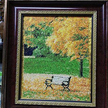 Картины и панно ручной работы. Ярмарка Мастеров - ручная работа Картины: Осень. Handmade.