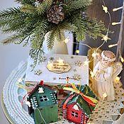 Сувениры и подарки handmade. Livemaster - original item Set of houses in the box