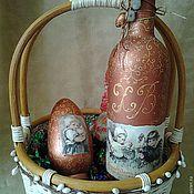 Подарки к праздникам ручной работы. Ярмарка Мастеров - ручная работа Пасхальные наборы. Handmade.