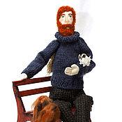 Куклы и игрушки handmade. Livemaster - original item the angel with the dog. happiness is near.. Handmade.