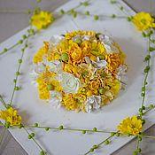 Панно ручной работы. Ярмарка Мастеров - ручная работа Настенное панно, панно из цветов, настенный декор, декор на стену. Handmade.