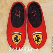 Обувь ручной работы handmade. Livemaster - original item Slippers male - themed. Handmade.