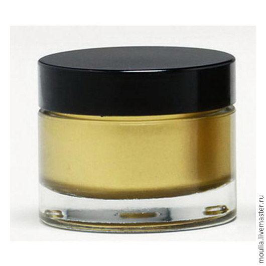 Металлическая краска-вакса Pebeo/банка 30мл арт 506 Золото ампир 2/0