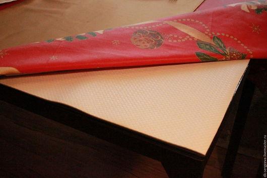 Текстиль, ковры ручной работы. Ярмарка Мастеров - ручная работа. Купить противоскользящая подложка для скатерти. Handmade. Белый, сервировка стола