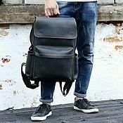 ccb34b30512e Мужской рюкзак экокожа+плащевка – купить в интернет-магазине на ...