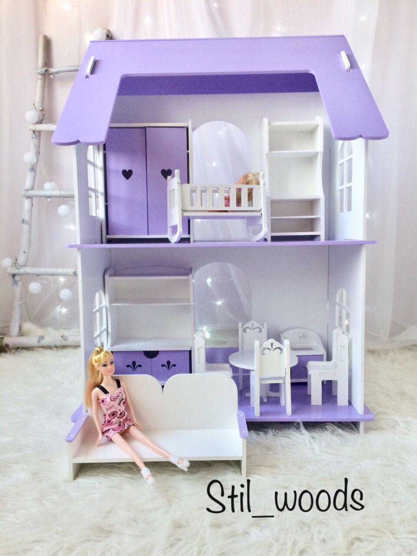 Коттедж для Барби – купить на Ярмарке Мастеров – HE5APRU   Кукольные домики, Иваново