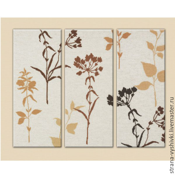 Вышивка триптихов из китая