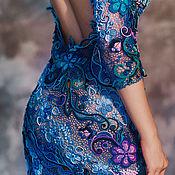 """Одежда ручной работы. Ярмарка Мастеров - ручная работа Платье """"Звезда Адама"""". Handmade."""