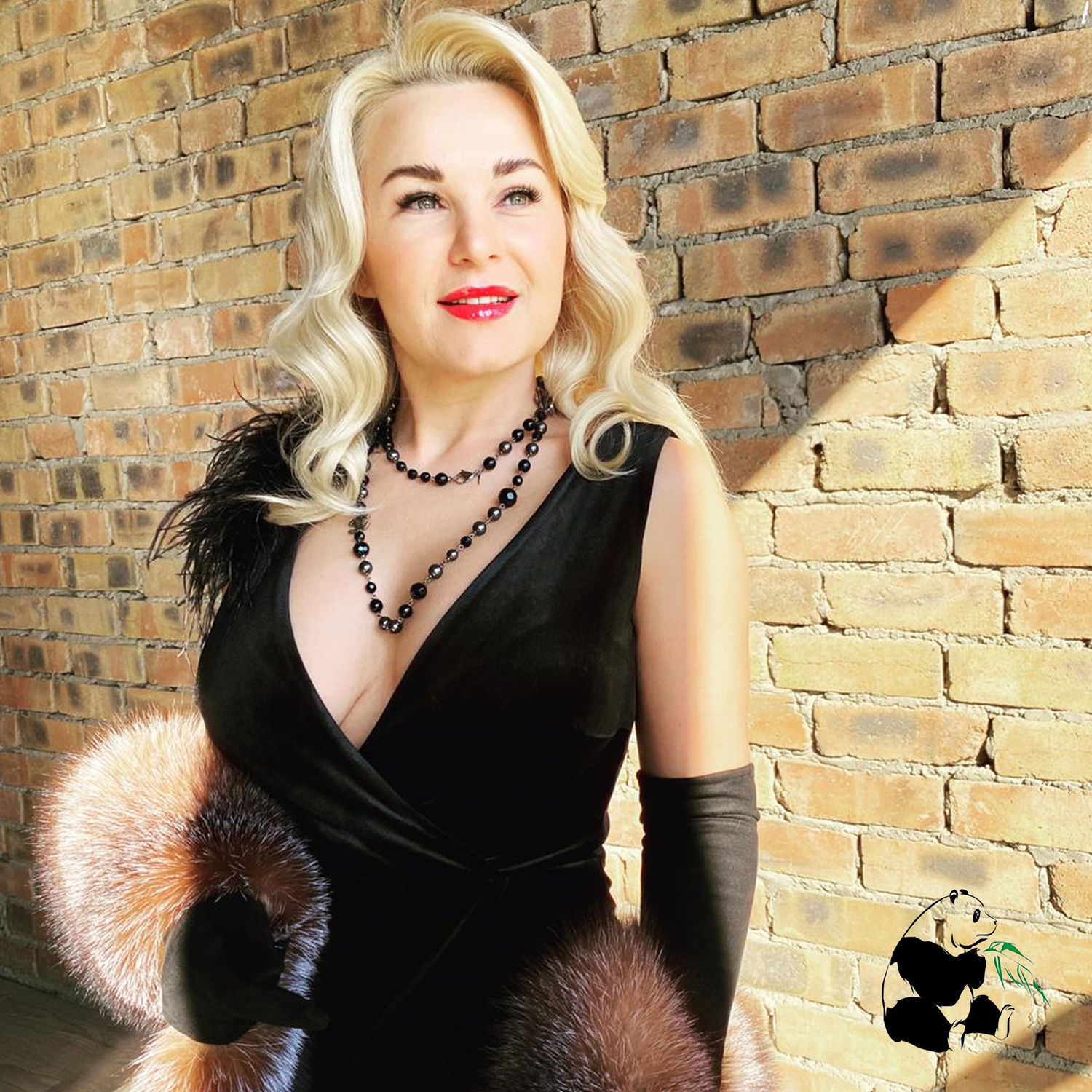 Luxurious boa scarf made of silver Fox fur ' Crystal', Scarves, Ekaterinburg,  Фото №1