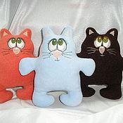 """Куклы и игрушки ручной работы. Ярмарка Мастеров - ручная работа кот """" мягкие лапки"""". Handmade."""
