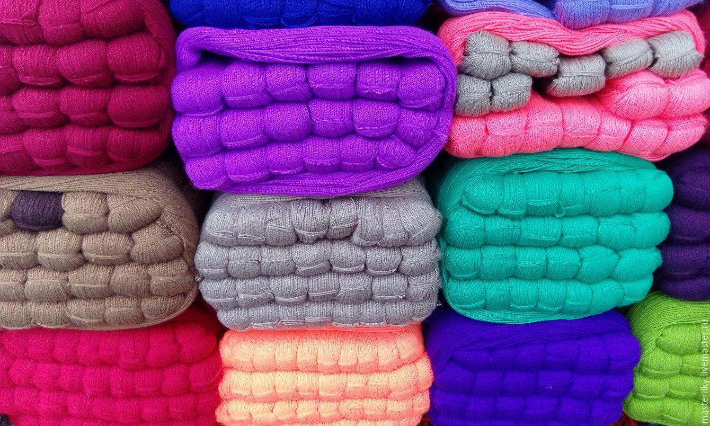 Объемные нитки для вязания фото