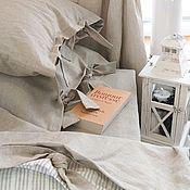 """Комплекты постельного белья ручной работы. Ярмарка Мастеров - ручная работа Комплект постельного """"Утро в Париже""""(лофт,сканди). Handmade."""