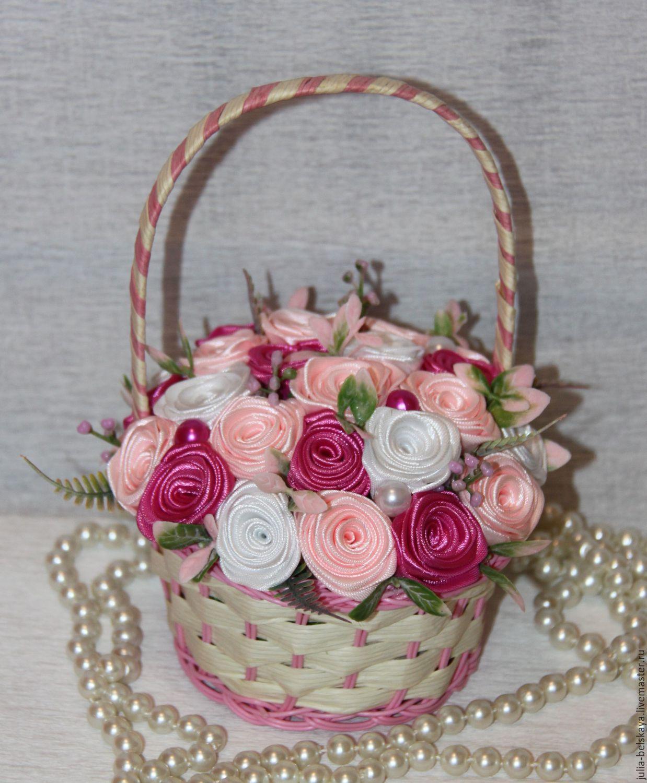 Ручная работа цветы лент