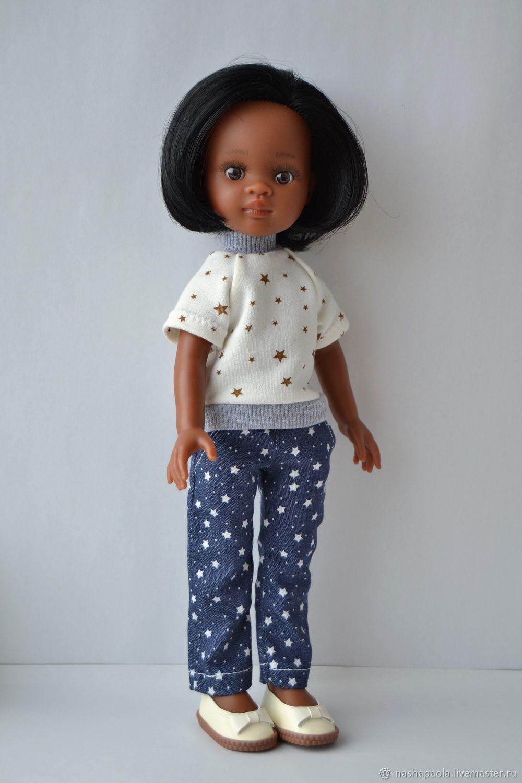 0e07c4aa8468 Наталия · Одежда для кукол ручной работы. Джинсы + футболка для куклы Paola  Reina. Наталия Федорова