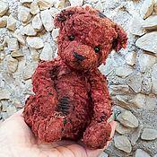 Мишки Тедди ручной работы. Ярмарка Мастеров - ручная работа Мишка тедди Проша, авторский винтажный тедди мишка ручной работы. Handmade.