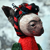 Куклы и игрушки ручной работы. Ярмарка Мастеров - ручная работа Кошка Фрида. Handmade.