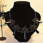 """Украшения handmade. Livemaster - original item Set """"Iness"""".. Handmade."""