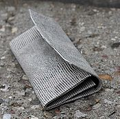 Сумки и аксессуары handmade. Livemaster - original item A pouch for tobacco Grey leather under the reptile. Different colors. Handmade.