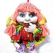 Портретная кукла ручной работы. Ярмарка Мастеров - ручная работа Кукла - попик на удачу. Handmade.