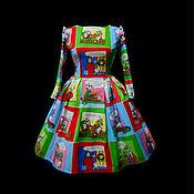 """Одежда ручной работы. Ярмарка Мастеров - ручная работа Платье """"Debate""""сюр. Handmade."""
