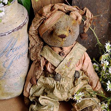 """Куклы и игрушки ручной работы. Ярмарка Мастеров - ручная работа Плюшевый мишка """" Петрушка"""". Handmade."""