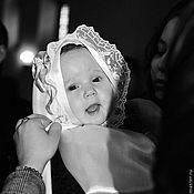 """Работы для детей, ручной работы. Ярмарка Мастеров - ручная работа Крестильный набор """"София"""". Handmade."""
